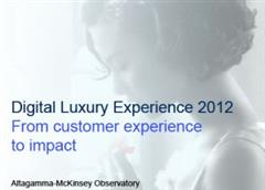 Altagamma Retail Insight 2012