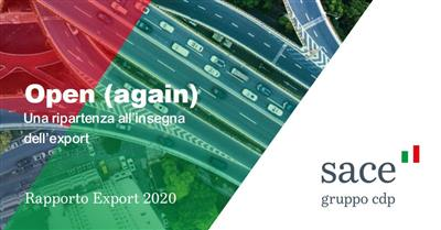 Rapporto Export Sace 2020
